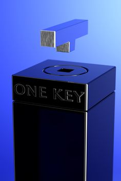 One Key Gin, from Spain Alcohol Bottles, Gin Bottles, Gin Brands, Best Gin, Gin And Tonic, Bottle Design, Whisky, Key, Experiment