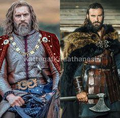 Vikings Show, Vikings Tv Series, Viking Art, Viking Woman, British History, Art History, Viking Series, Viking Dress, Sexy Beard