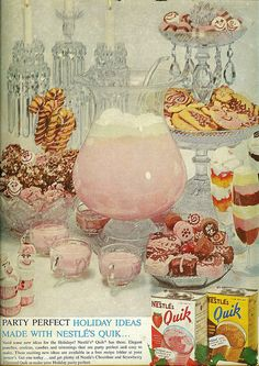 Nostalgia ! Strawberry punch made with Quik!