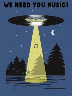 Music dish