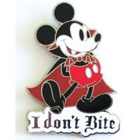 Pin 72104 Mickey Mouse - I Don't Bite FIRST RELEASE RARE: LOCATED NBC BOOK