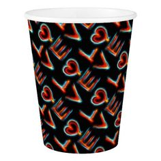 Love Paper Cup #Love #Heart #Family #Marriage #Relationship #Holiday #Valentine #Home #Party #PaperCup