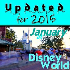 Everything you need to know about January @ Disney World – crowd calendars, available discounts, weather, best/worst marks & MORE