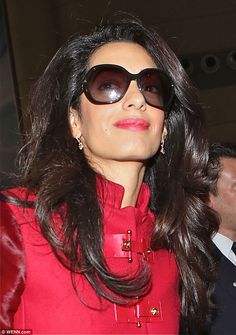 Amal Clooney at LAX heading to London. In two days dde6837d34d