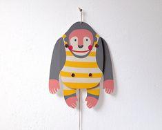 ZIP+ZAP+Hampeltier+++'Gorilla'+von+zenzi+design+auf+DaWanda.com