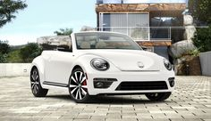 I WANT! 2014 VW Beetle Convertible R-Line with Sound and Navigation