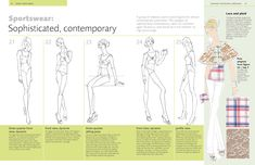 Figure Poses for Fashion Illustrators: Scan, Trace, Copy: 250 Templates for Professional Results. Includes a CD-ROM with over 250 copyright-free images.: Sha Tahmasebi: 9781438070490: Amazon.com: Books