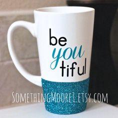 Super mom, Mugs and Glitter