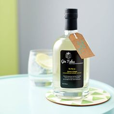 lemon and ginger gin by gin tales | notonthehighstreet.com