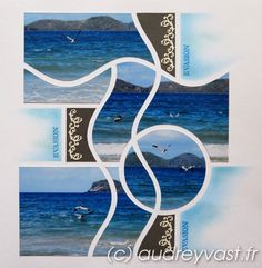 Scrapbooking Layouts, Scrapbook Pages, 4 Photos, Lima, Photo Book, Mosaic, Projects To Try, Nature, Inspiration