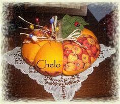 El rincón de Chelo: Acerico calabaza....
