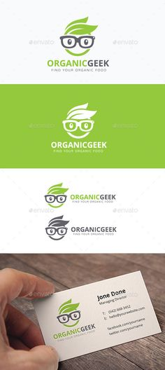 Organic Geek Logo Template Vector EPS, AI. Download here: http://graphicriver.net/item/organic-geek/11878715?ref=ksioks