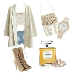 Natural is nude by stellamaria21 on Polyvore featuring polyvore fashion style clothing