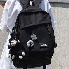 Stylish School Bags, Black School Bags, Black Backpack School, Cute School Bags, Ladies Backpack, Stylish Backpacks, Cute Backpacks, School Backpacks, Girl Backpacks