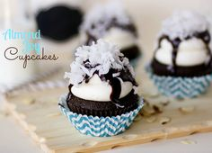 Almond Joy Cupcakes - Confessions of a Cookbook Queen
