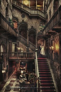 Hotel Danieli in Venice, Italy - made up of three beautiful Venetian palazzi. Lovely place for a wedding!