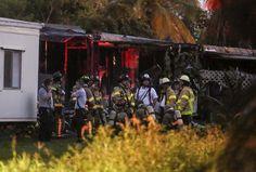 Small plane crashes into mobile homes; 2 catch fire #Plane, #Crash, #US