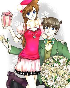 Christmas Ran and Shinichi