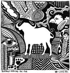 Buffalo - one of Africas Big Five