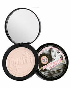 SOAP & GLORY- One Heck of a Blot™ Oil absorbing, shine controlling face powder. All Things Beauty, My Beauty, Beauty Makeup, Summer Beauty, Beauty Box, Beauty Stuff, Beauty Care, Faces Cosmetics, Makeup Cosmetics