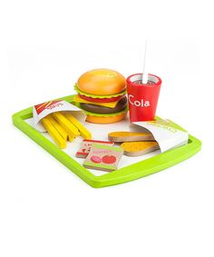 Another great find on #zulily! Fast Food Deluxe Dinner #zulilyfinds
