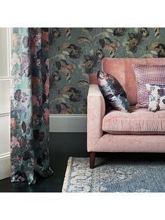 Churchill, About Uk, Aqua, Throw Pillows, Wallpaper, John Lewis, Interiors, Home, Pink