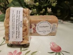 Texas T&T Eucalyptus Natural Home Made Lye Soap Coconut Oil 4 oz Rebatch- FREE SHIPPING by TexasTAndT on Etsy