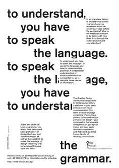 Orita Sinclair — Short Course Poster — Pupilpeople — Design studio based in Singapore