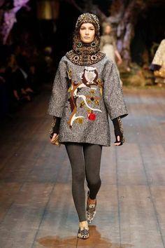 Dolce  Gabbana  Winter 2015  Milan Fashion Week 2014.