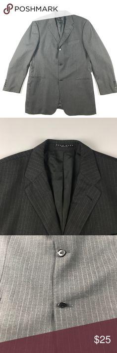 Hugo Boss 42R 3 Button Einstein Sigma Suit Coat Bottom button is chipped Hugo Boss Suits & Blazers Sport Coats & Blazers