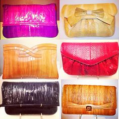 We always find cutest & great condition vintage purses  Our speciality is snakeskin & eel-skin vintage purses