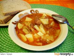 polevka z leca Thai Red Curry, Soup, Ethnic Recipes, Soups, Chowder