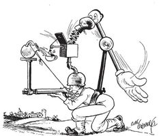 Theme: Humor, Original, Clever. Rube Goldberg machines