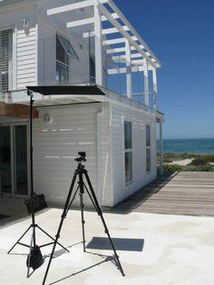 """Das Beachhouse"""" Grotto Bay"""" ist eine vielseitige Location für ein Sommer-Shooting.  #yvesrocher #shooting #kapstadt"""