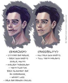 Josh appearance part 2<< I kinda like the way exorJosh looks