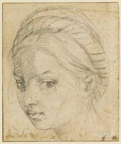tête_de_femme_coiffee d'un turban Andrea del Sarto