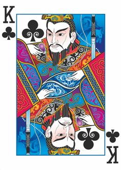 Joanne Lin is raising funds for Bicycle® Emperor Playing Cards by USPCC on Kickstarter! A playing card deck with art inspired by ancient Chinese legends. Intricate, custom designs never seen before. Cool Playing Cards, Custom Playing Cards, Vintage Playing Cards, Divination Cards, China Art, Deck Of Cards, Card Deck, Art Design, Emperor