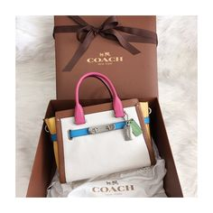 Coach Swagger Multicolor Finally have one! Love it Coach Bags Satchels