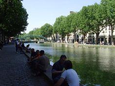 Secret Paris: Where the Locals Hang Out: The Canal Saint-Martin Neighborhood
