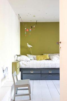 vert olive dans la chambre