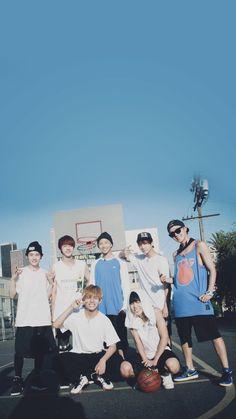 BTS / LA / Wallpaper