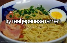 Before I Die Bucket Lists | before i die, bucket list, japanese ramen, text - inspiring picture on ...