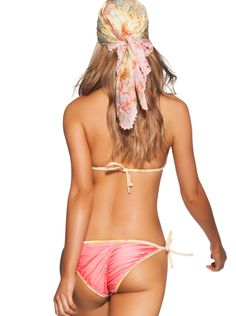 Agua Bendita Womens Swimwear 2014 Bendito Muffin (back) Triangle Bikini