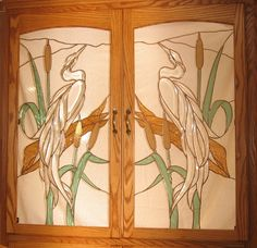 Stained Glass Windows, Supplies, Gifts and more! Stained Glass Cabinets, Glass Cabinet Doors, Stained Glass Windows, Glass Door, Glass Art, Custom Stained Glass, First Art, Fused Glass, Bar