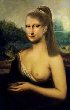 Mona Lisa Naked 73