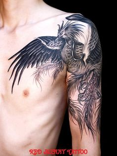 tattoo, so its more like a bird or something.