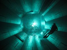 Nemo 33: worlds deepest swimming pool 113ft