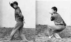 Cai Yuhai performing Jiang style baguazhang.