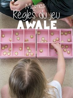 Awale : règles du jeu - Parent Resources, Tips, and Advice Practical Gifts, Unusual Gifts, Diy Hacks, Diy Crafts For Kids, Kids And Parenting, Montessori, Activities For Kids, Education, Centre