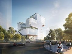 Coldefy Associés and ECADI Win Competition for New Bao'an Cultural Center in Shenzhen | Netfloor USA